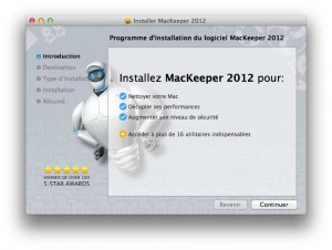 Installation MacKeeper